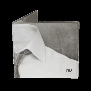 Portefeuille cravate ultra plat