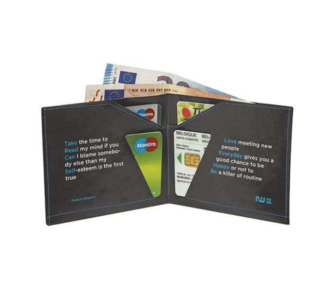 Portefeuille en papier imperméable ultra compact
