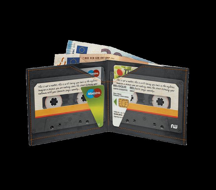 Portefeuille cassette ultra plat de la marque nowa