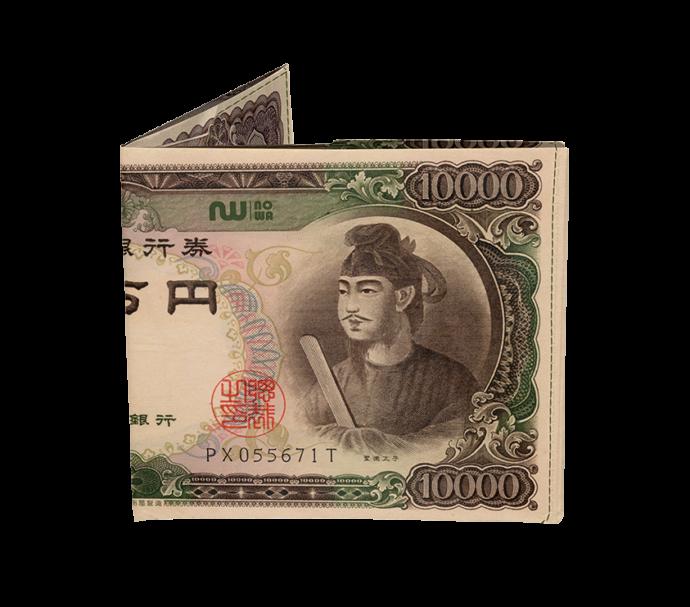Portefeuille ultra fin prince shotoku en papier Tyvek