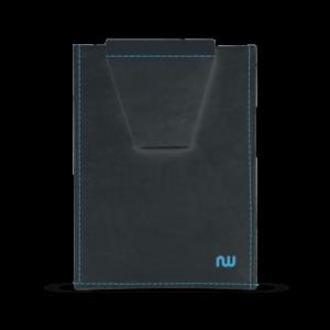 Porte carte ultra slim noir et bleu