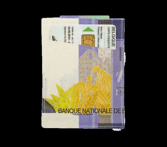 Porte carte d'identité design belge rené magritte
