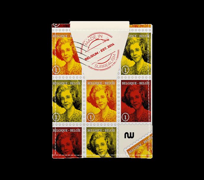 portefeuille carte d'identité surréalisme Belge