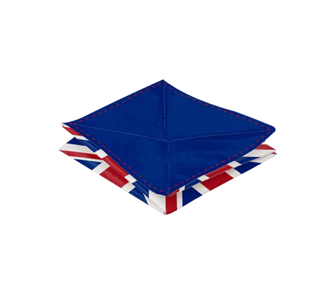 Porte monnaie Origami UK ultra fin en papier tyvek