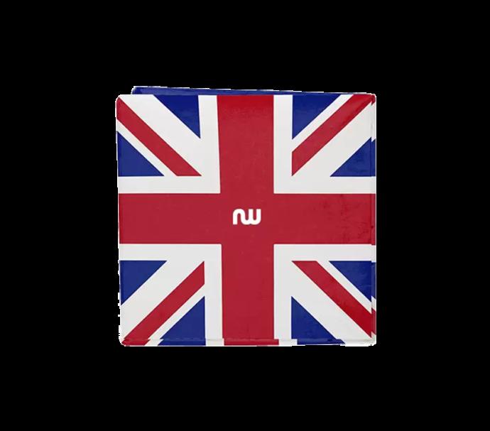 Porte monnaie Origami UK union Jack en papier Tyvek