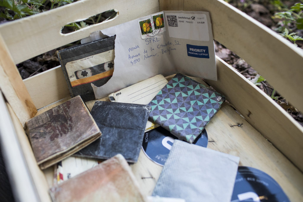 Portefeuille en papier tyvek fabriqué en Belgique