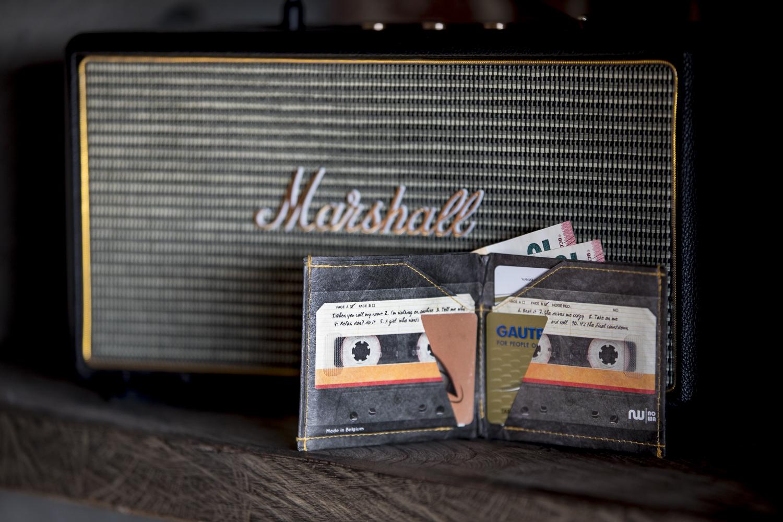 Portefeuille cassette ultra slim pour homme