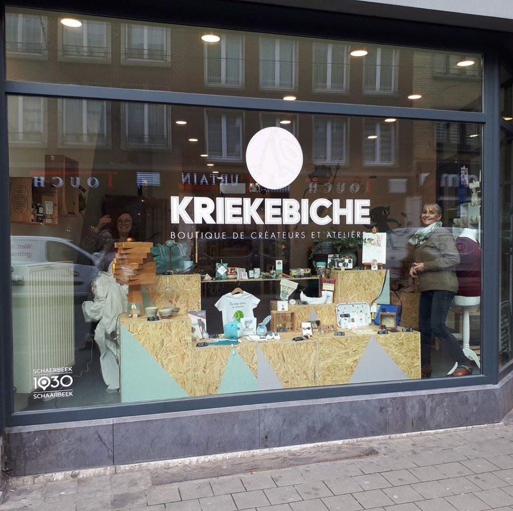 Kriekebiche magasin nowa à Bruxelles